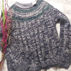 Hollister Cable Knit Swing Sweater Sz S NWT